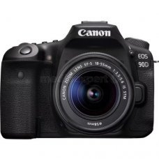 Фотоаппарат CANON EOS 90D + Объектив EF-S 18-55mm IS STM