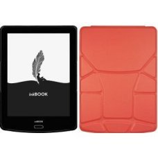 "inkBOOK Prime HD 6"" + чехол Yoga (living coral)"
