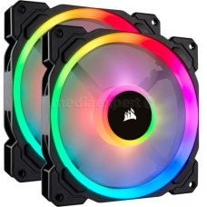 Вентилятор CORSAIR LL140 RGB LED Dual Light Loop Twin Pack (CO-9050074-WW)