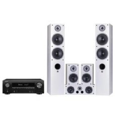 Denon AVR-X1600H, Уилсон RAPTOR 7/1/VOCAL (белый)